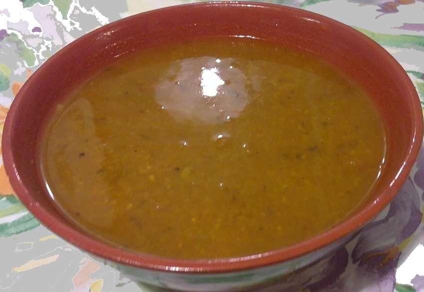 recette soupe, recette de soupe à la semoule