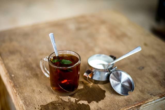 Thé à la menthe